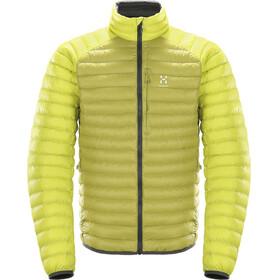 Haglöfs Essens Mimic Jacket Men budgie green/star dust